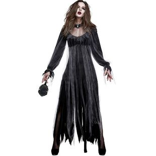 Halloween new horror ghost bride party vampire costume NHFE155280's discount tags