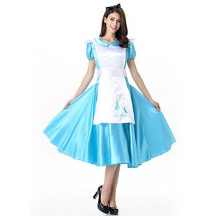 Halloween COS Cosplay Costume Wonderland Stage Costume NHFE155284's discount tags