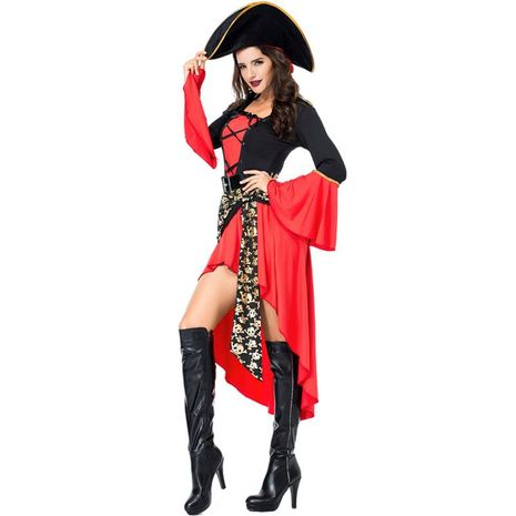 New female pirate costume Halloween cosplay costume NHFE155290's discount tags