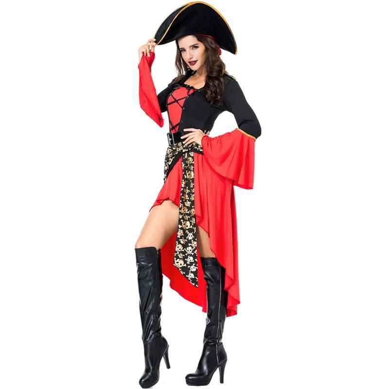 New female pirate costume Halloween cosplay costume NHFE155290