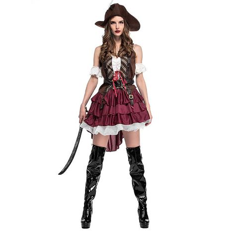 Halloween cosplay Somali pirate costume NHFE155295's discount tags