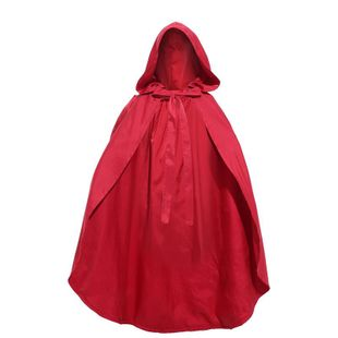 Halloween cosplay fairy little red riding hood double child cloak NHFE155297's discount tags