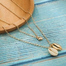 Womens shell plating alloy Necklaces NHGY155010