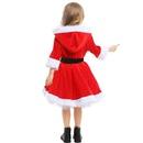 Christmas costume children red tutu dress NHFE155216