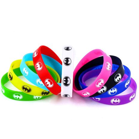 Stylish silicone letter sports bracelet NHAS155369's discount tags