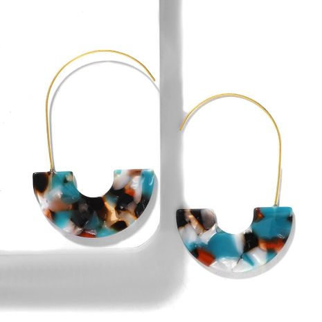 Fashion resin long hoop earrings NHJQ155410's discount tags