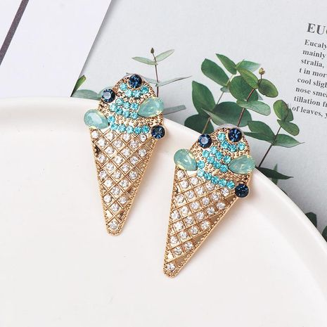 Fashion ice cream stud earrings NHJJ155443's discount tags