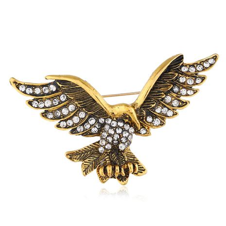 Vintage diamond eagle brooch NHNZ155553's discount tags
