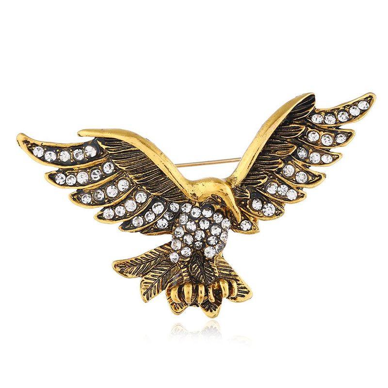 Vintage diamond eagle brooch NHNZ155553