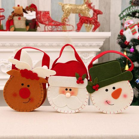 New Christmas non-woven gift bag candy bag NHMV155562's discount tags