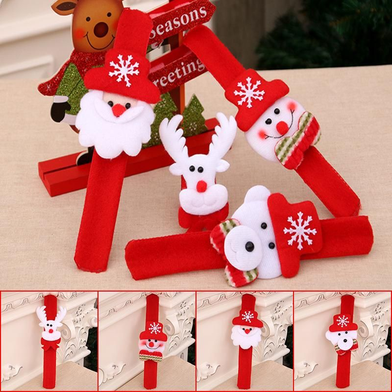 Christmas decoration pat ring bracelet watch children's gift NHMV155579