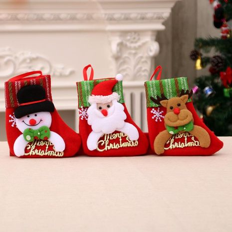 Christmas tree pendant ornament socks children's gift bag socks NHMV155597's discount tags