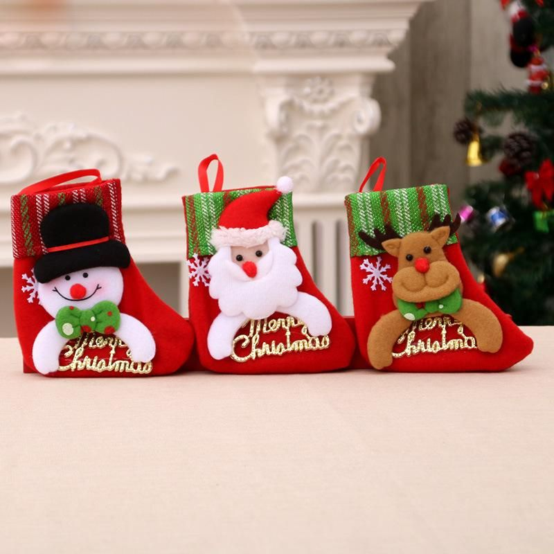 Christmas tree pendant ornament socks children's gift bag socks NHMV155597