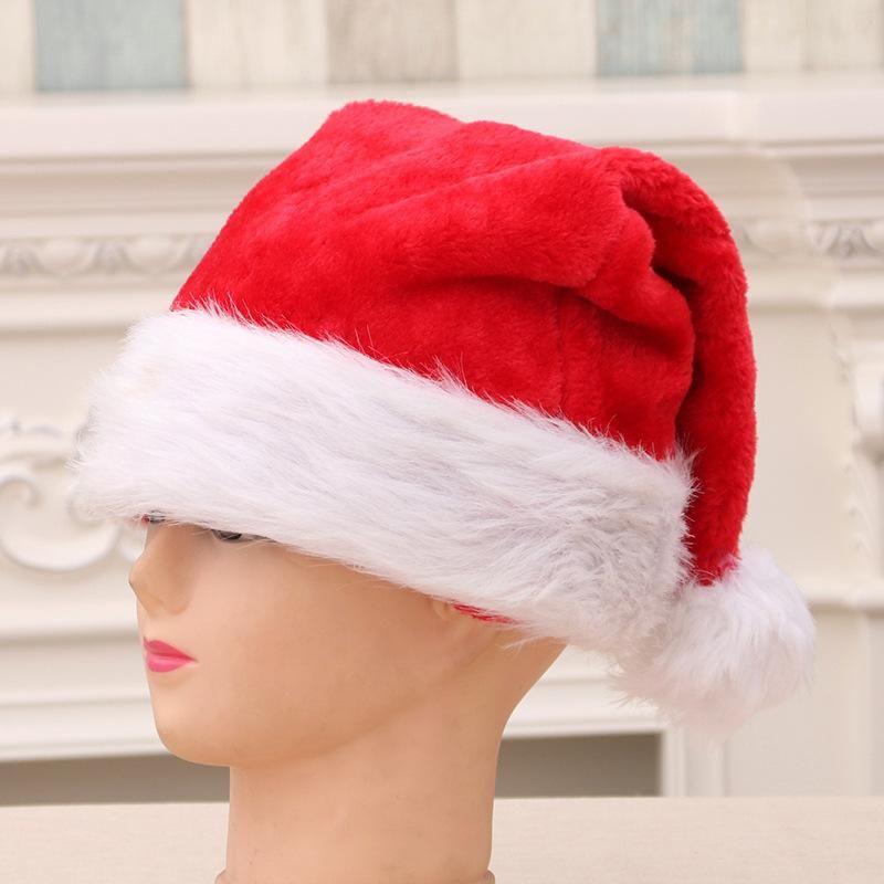 Plush Christmas Hat Adult Child Hat NHMV155604