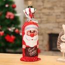 Christmas new wine bottle set table home decoration supplies NHMV155557