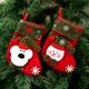 Printed children's candy bag Christmas decoration socks NHMV155577