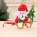 New cartoon antlers old man Christmas children glasses decoration NHMV155589
