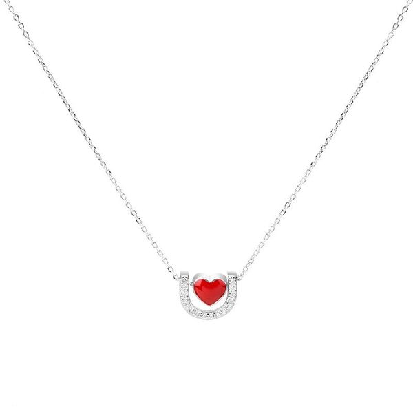 Fashion simple love cold wind necklace NHLL149297
