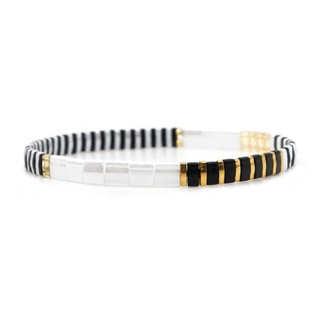 Fashion woven rice beads bracelet NHGW149367's discount tags