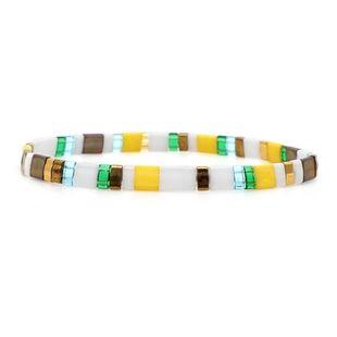 Bohemian retro seaside trend personality bead bracelet NHGW149374's discount tags