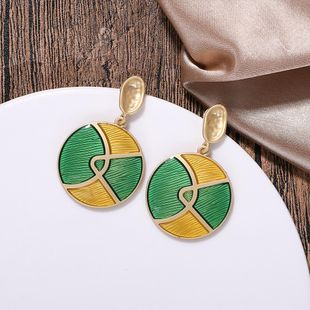 New alloy sheet geometric earrings NHJQ149477's discount tags