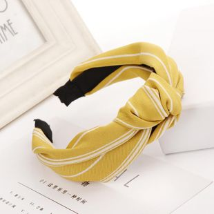 Fashion cloth bow wide headband NHHV149537's discount tags