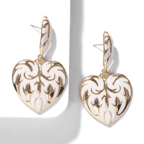 New alloy heart earrings NHJQ155626's discount tags