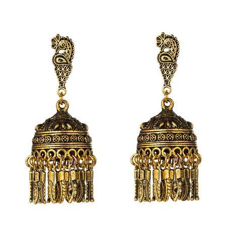 Alloy Phoenix Bell Chime Old Wind Earrings NHJE155684's discount tags