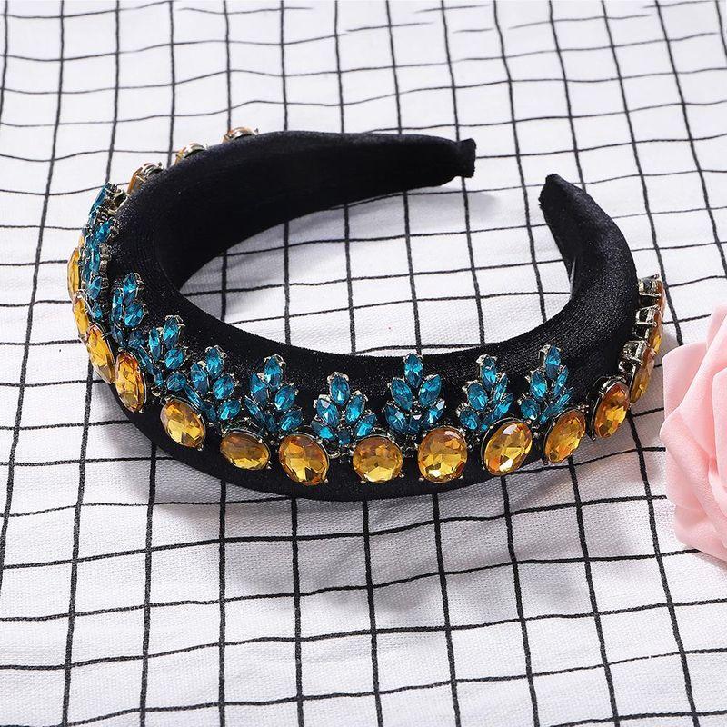 Sponge alloy diamond headband NHJQ155759
