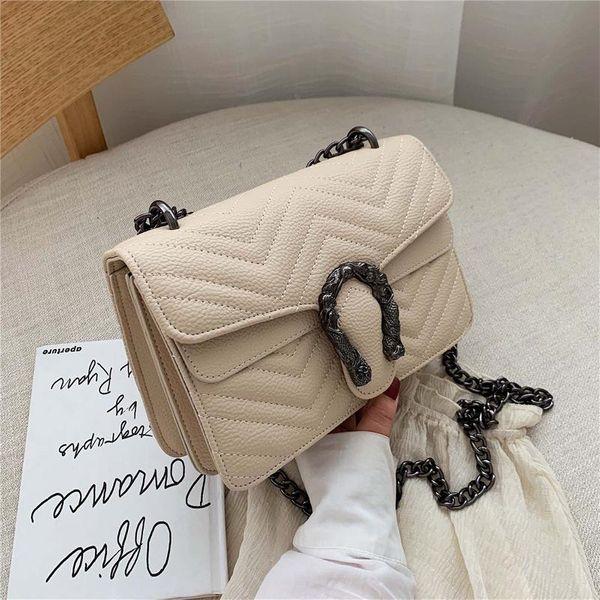 New Messenger Bag chic chain fashion small square bag NHTC155798