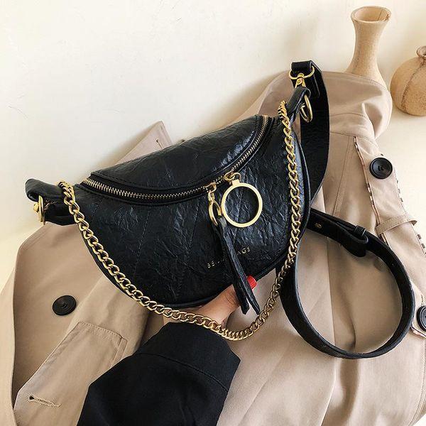 Fashion wild crossbody chest bag shoulder bag NHTC155819