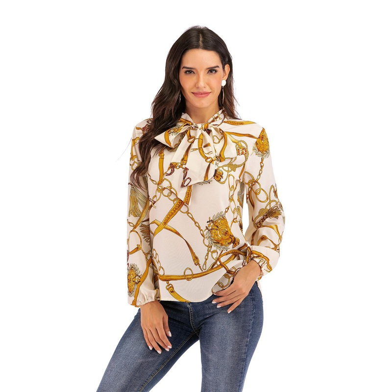 Fashion chain print shirt NHLR155868