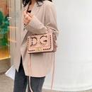 Fashion small square bag shoulder slung small square bag NHTC155823