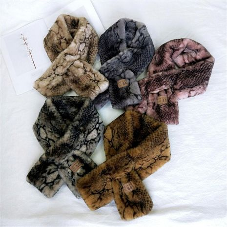 Plush autumn and winter Korean version of the thickened collar NHMN149779's discount tags