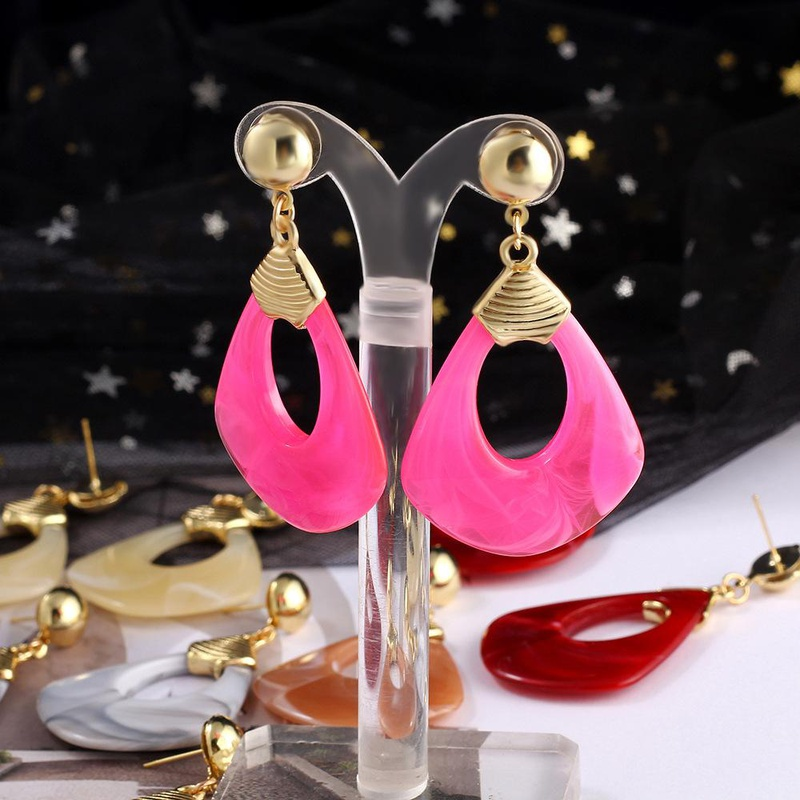 Bohemian Dream Catcher Long Holiday Winding Earrings NHIM149888