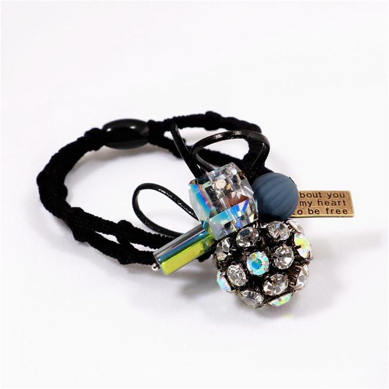 Korean flower band rubber band hair accessories NHIM149914