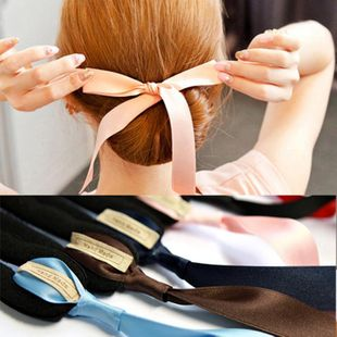 Fashion versatile ribbon bow tie NHDP150118's discount tags