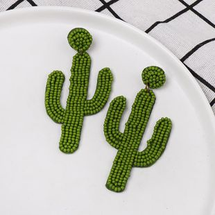 Fashion cactus beads earrings NHJJ150127's discount tags