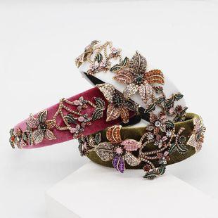 New Baroque fashion diamond color headband NHWJ150165's discount tags