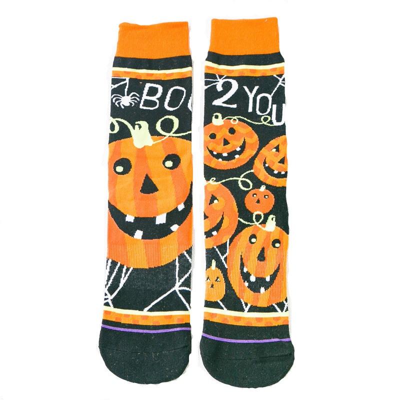 New Halloween Pumpkin Cotton Socks NHZG150182