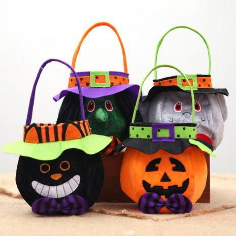 New Halloween hooded round cloth gift bag tote NHHB150197's discount tags