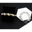 Creative Ring Diamond Pearl Alloy Bracelet NHDP150037