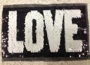 Fashion LOVE cloth patch patch decal NHLT150225