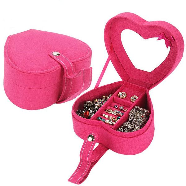 Fashion jewelry cases heart-shaped jewelry box NHHW150478