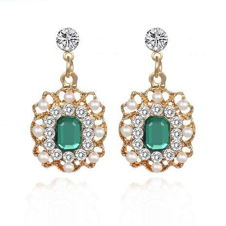 Boucles d'oreilles perles diamant mode vintage NHPF150500's discount tags
