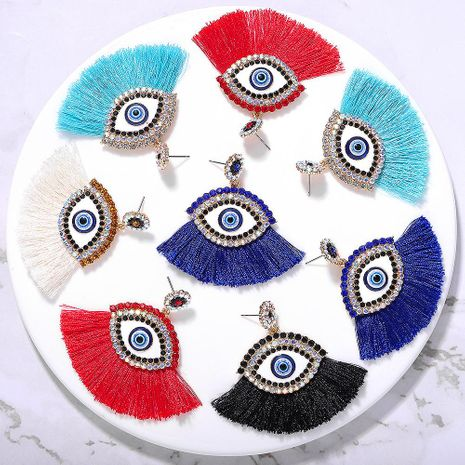Boucles d'oreilles pompon New Diamond Devi s Eye NHJQ150522's discount tags