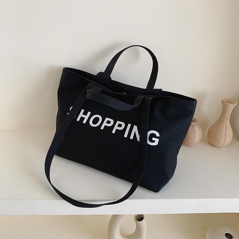 Fashion black handbag NHTC150565
