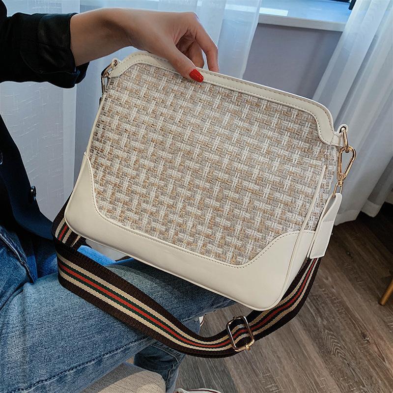 Fashion simple shoulder messenger bag NHTC150624