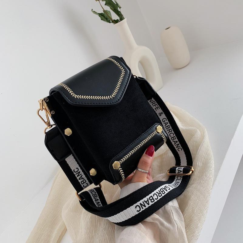 Fashion simple shoulder messenger bag NHTC150698