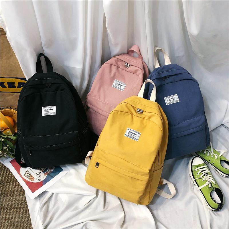Fashion canvas large capacity backpack NHPB150756